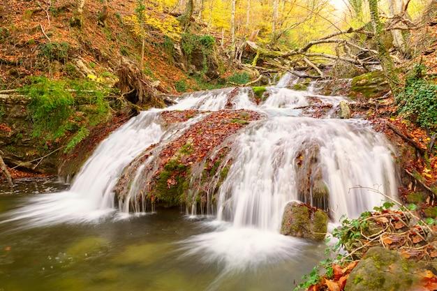 クリミア自治共和国の自然の美しい景色。