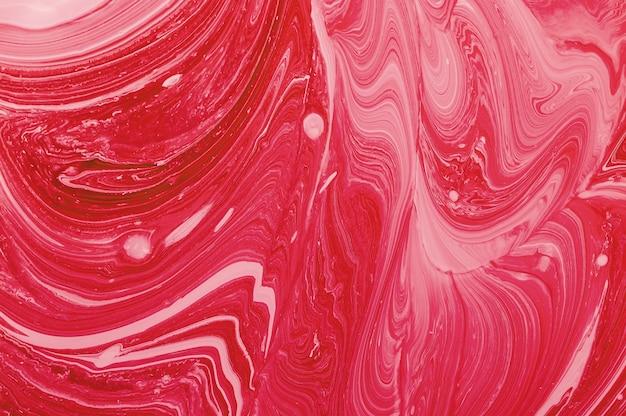 カラフルな抽象的な背景。液晶の質感。液体の色流体アート