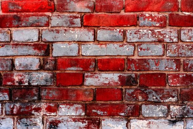 Текстура, кирпич, стена, его можно использовать как фон. кирпичная текстура с царапинами и трещинами