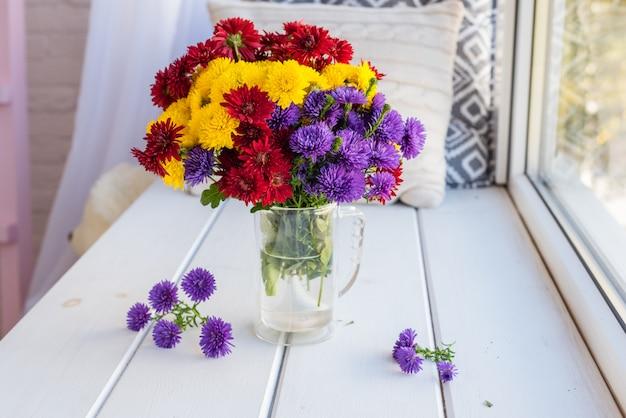 美しい明るくカラフルな花束