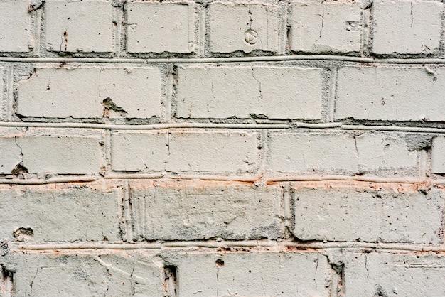 Кирпичная текстура с царапинами и трещинами