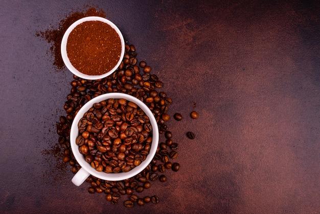 お菓子で爽快な朝のコーヒー。背景として使用することができます