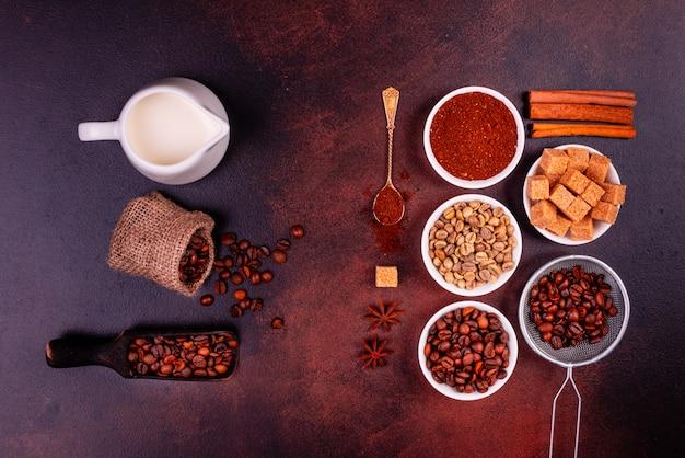 お菓子で爽快な朝のコーヒー。