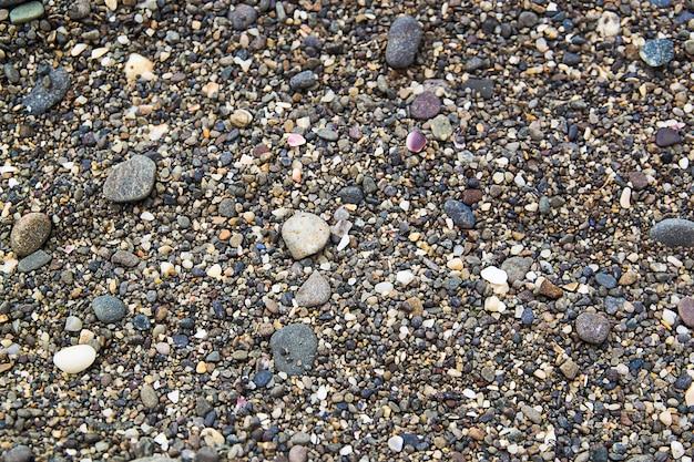 ビーチの石