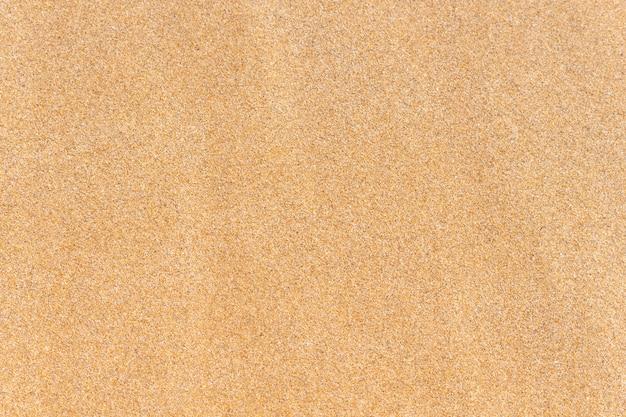 砂のテクスチャ茶色の砂上面図。
