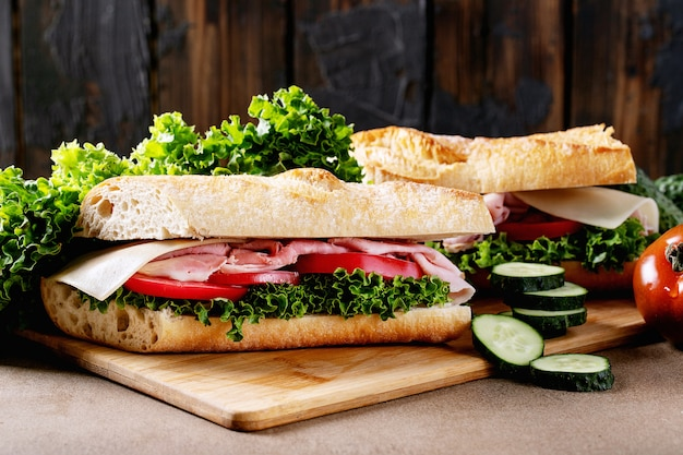 自家製サンドイッチ