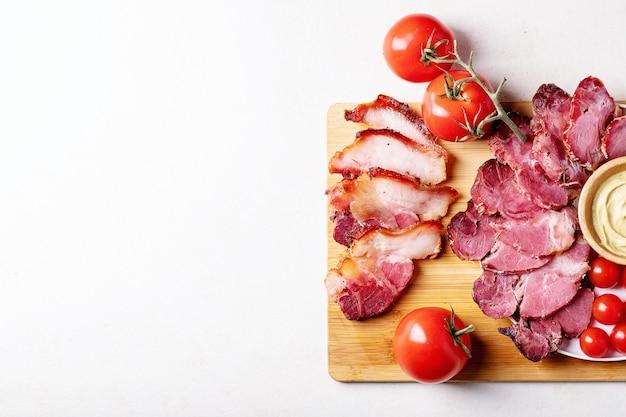 調理済み豚肉