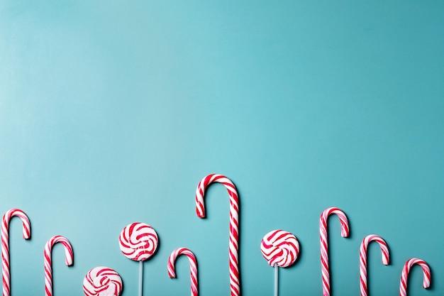 伝統的なクリスマスキャンディ