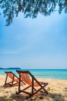 ビーチの椅子