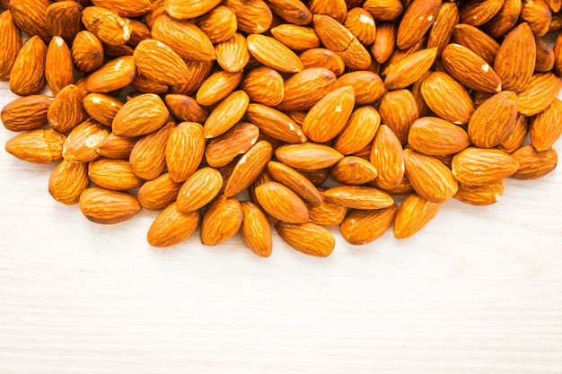 アーモンドナッツのコピースペース
