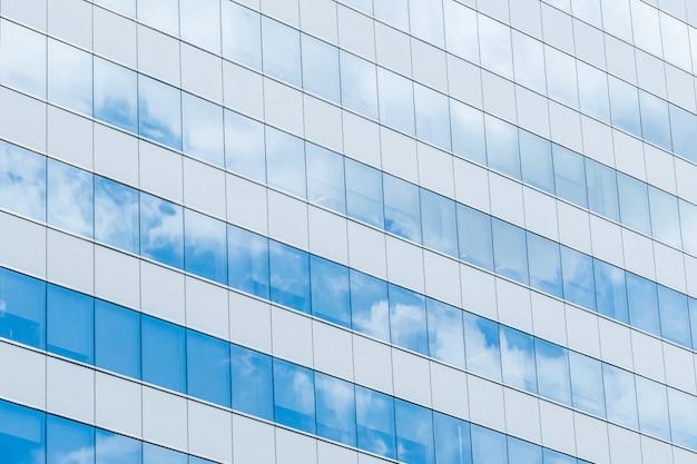 建物の反射ガラス