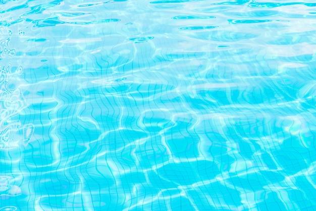 プールの水の背景