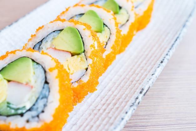 カリフォルニアの巻き寿司
