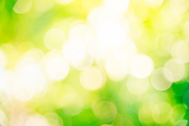 Абстрактный зеленый боке фон