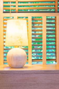 ライトランプ装飾のインテリアルーム