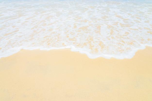 熱帯のビーチと海