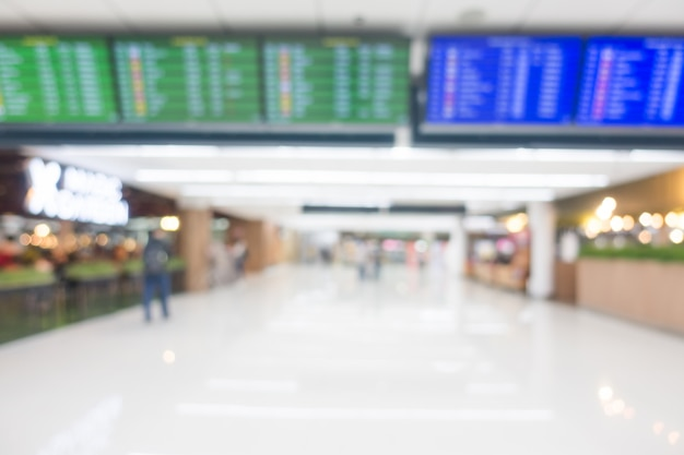 抽象的なぼかし空港
