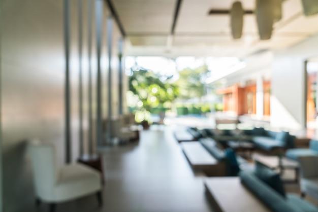 Абстрактный размытия интерьер гостиной