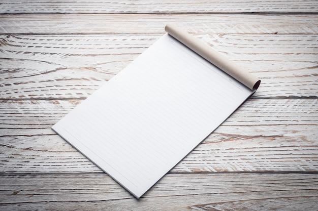 Пустая белая бумага