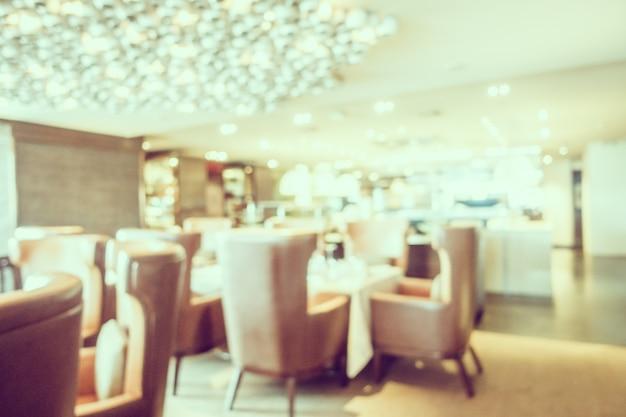 Абстрактный размытый ресторан