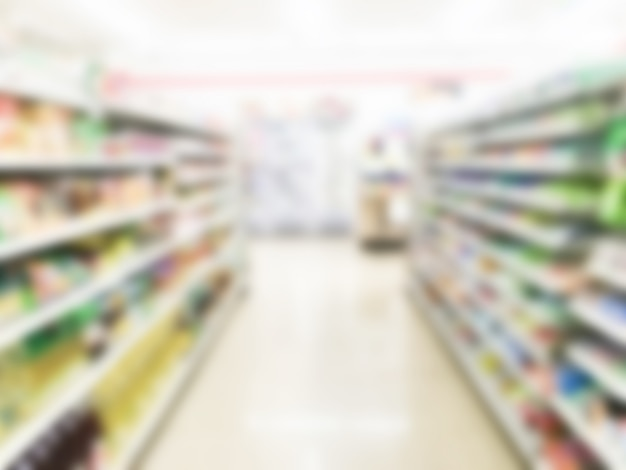 Абстрактный размытия супермаркет