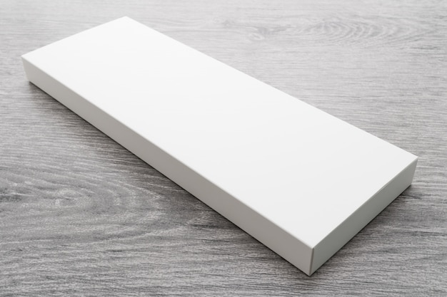 Белая коробка для макета