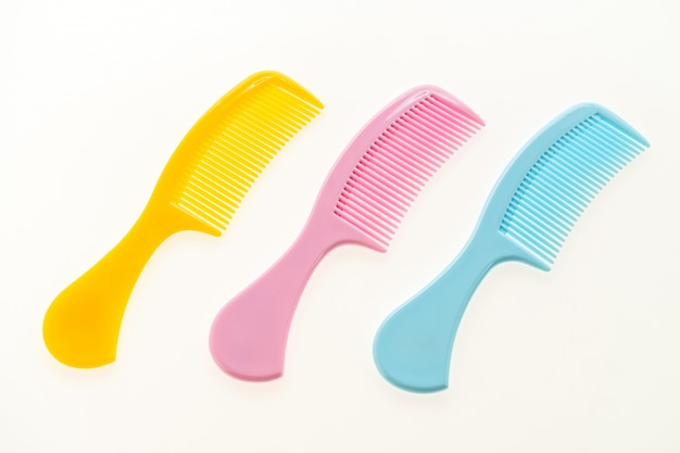 プラスチック製の櫛