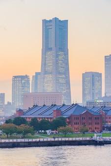 Йокогама город небоскребов