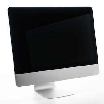 空白のデスクトップコンピューター