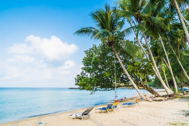 美しい熱帯のビーチと海