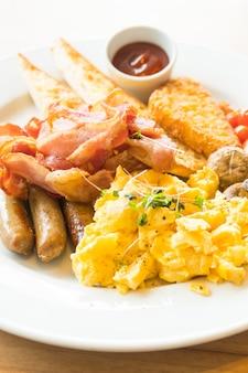 英語の朝食