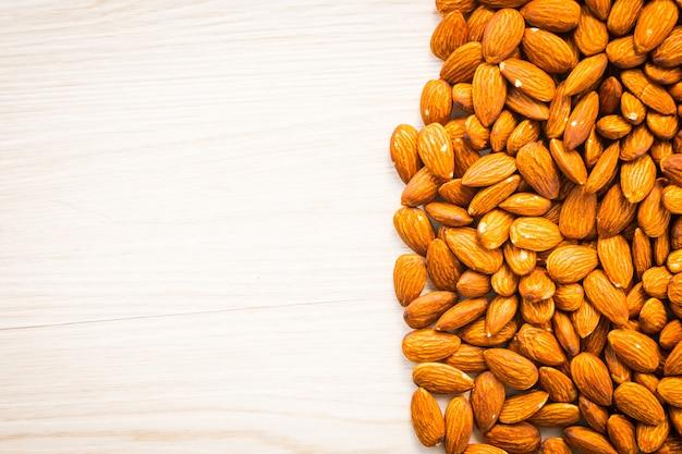 アーモンドナッツ、コピースペース