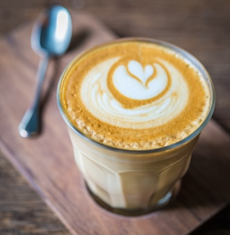 ラテコーヒー