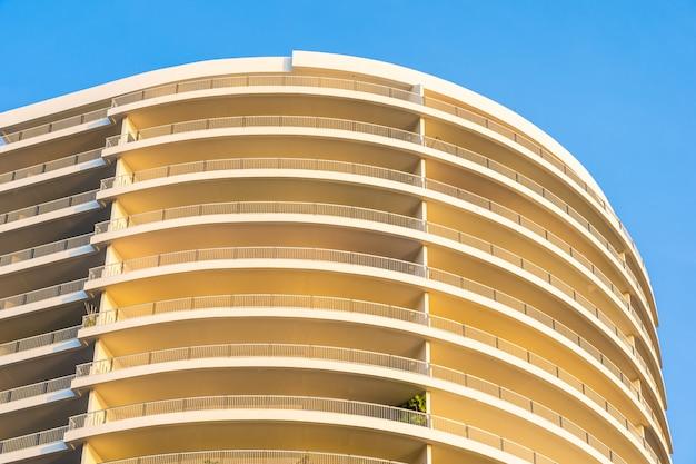 抽象的な建物の質感の表面外観