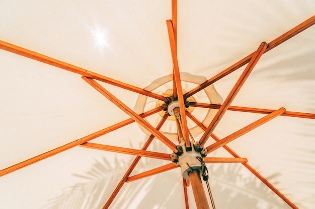 傘テクスチャの美しい白い色