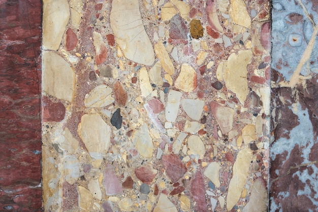 大理石のパターンのテクスチャ自然の背景。インテリア大理石の壁のデザイン(高解像度)。