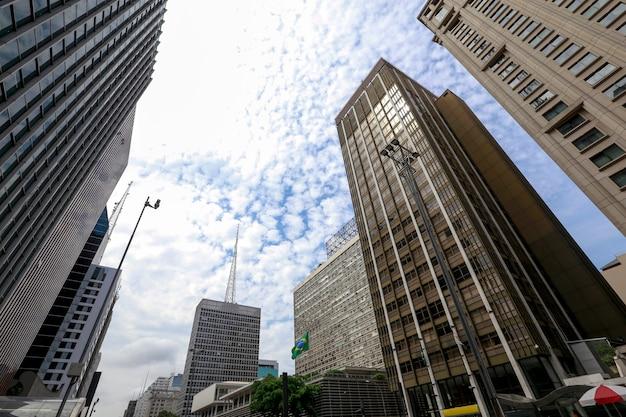 パウリスタ通り、サンパウロ、ブラジル