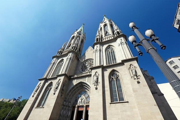 サンパウロ大聖堂の斜視図