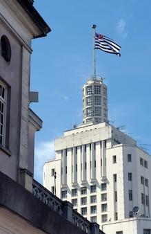 サンパウロのシンボルの一つ、バネスパビル