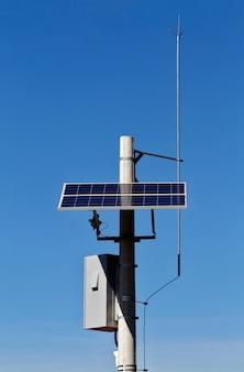 太陽エネルギーで作動するロードカメラ