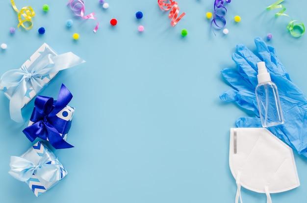 Украшение ко дню рождения и медицинское оборудование
