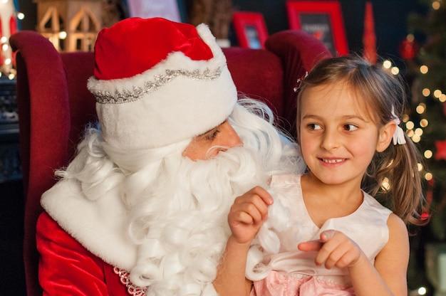 お祝い、クリスマス、新年、冬時間、休日、サンタクロース、子供時代