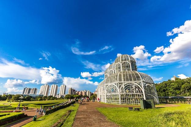 クリティバの植物園。ブラジル、パラナ州