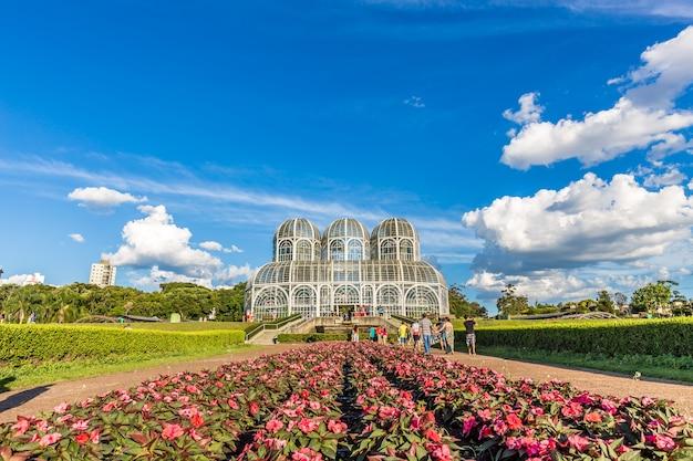 Ботанический сад, куритиба. штат парана, бразилия