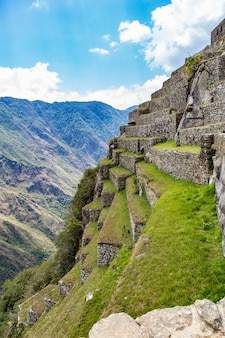 マチュピチュ、クスコ、ペルー、南アメリカ。