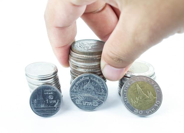 タイの銀貨
