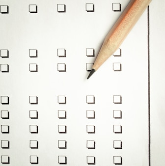 Бумажный опросный лист