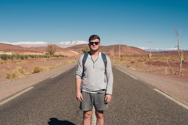 Человек, который решил путешествовать автостопом