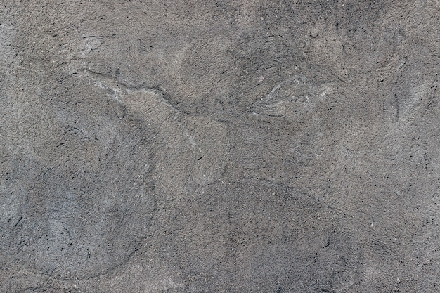 き裂を有するテクスチャコンクリート壁。