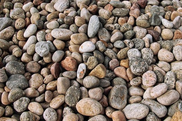 小石のビーチ